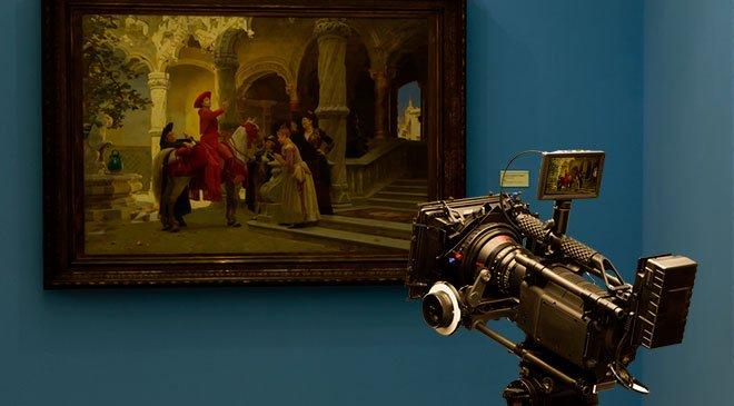 Derecho de filmación para cine, video y televisión