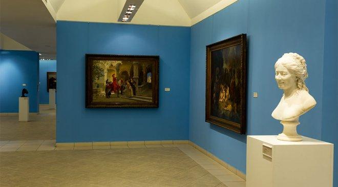 Sala de arte francés