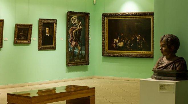 Sala de arte italiano