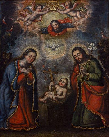 Escuela altoperuana, La premonición de la Pasión de Jesús