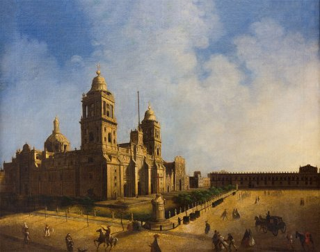 Ignacio Serrano (México), Catedral de México, 1848
