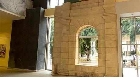 Detalle de la arcada perteneciente al antiguo mercado de colón