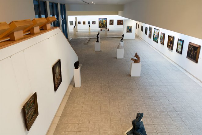 Sala Surgimiento del Arte moderno