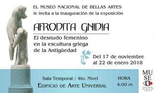Afrodita Gnidia. El desnudo femenino en la escultura griega de la Antigüedad