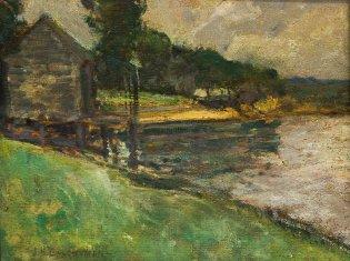 John Henry Watchman, Paisaje, 1878