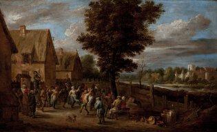 David II Teniers (El joven), Kermesse, -1