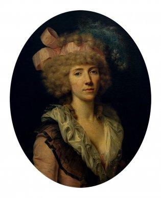 Francois Xavier Fabre, Retrato de Elizabeth Fabiola Mascagni, -1