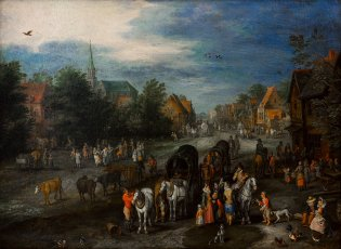 Jan II Brueghel (El joven), Kermesse, -1