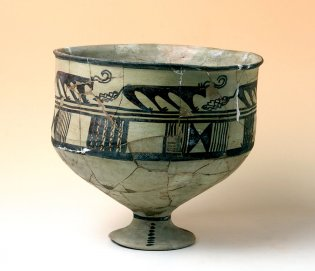 Anónimo, Vaso con decoración geométrica, 3400