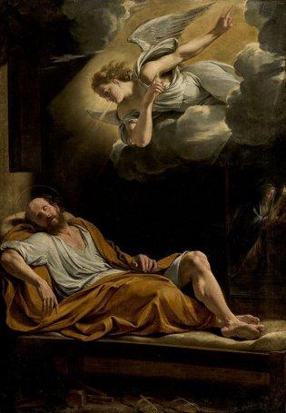 Philipe de Champaigne, El sueño de San José, -1