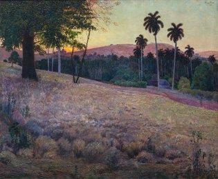 Domingo Ramos, Atardecer, 1921