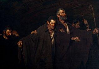 Manuel Vega, Caravana de ciegos, 1919