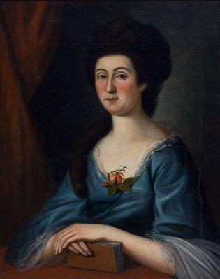 Escuela de Charles Willson Peale, Retrato de una dama