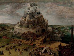 Círculo de Jacob Grimmer, Construcción de la Torre de Babel, -1
