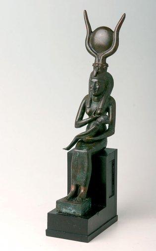 Anónimo, Estatua de Isis alimentando a Horus, 535