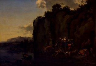 Nicolaes Pietersz Berchem, Escena italiana, -1