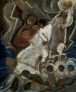Carlos Enríquez, Virgen Del Cobre, 1932