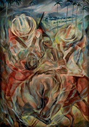 Carlos Enríquez, El rapto de las mulatas, 1938
