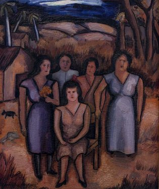 Arístides Fernández, La familia se retrata