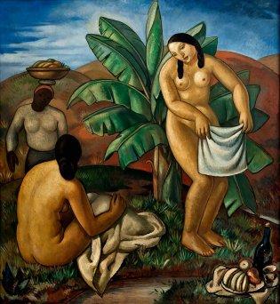 Antonio Gattorno, Mujeres junto al río