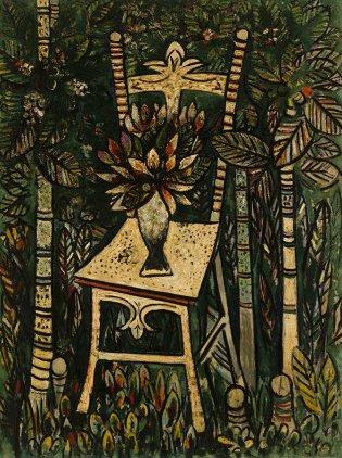 Wifredo Lam, La silla, 1943