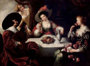 Jan Cossiers, Los cinco sentidos, 1630