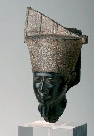 Anónimo, Cabeza de una estatua de Amón., 1190