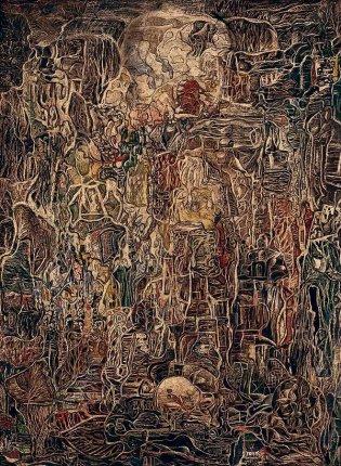 Eduardo Abela, El caos