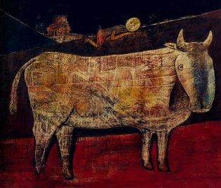 Eduardo Abela, La vaca