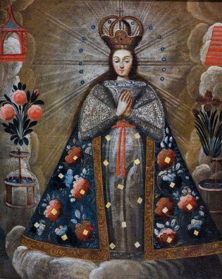 Escuela altoperuana (siglo XVIII, María Reina