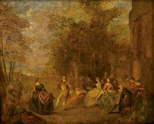 Jean Baptiste Pater, Baile Campestre, -1