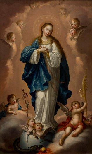 José Campeche, La inmaculada concepción, 1804