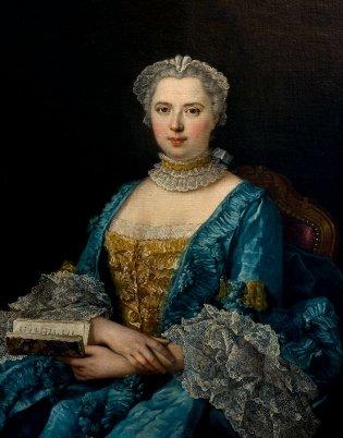 Louis Michel Van Loo, Retrato de Mujer, -1