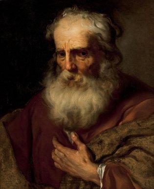 Escuela de Rubens, Cabeza de anciano, -1