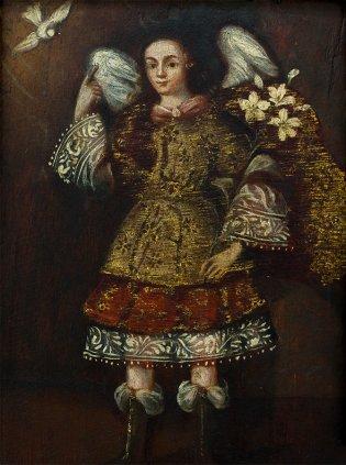 Anonimo del Virreinato de Nueva España, Arcángel San Gabriel