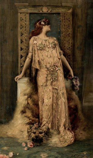 George Clairin, Retrato de Sarah Bernhardt, 1893