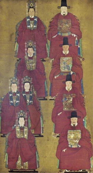 Anónimo, Academia Imperial. Pintura de los Muertos