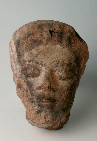 Anónimo, Acrotera en forma de cabeza de mujer