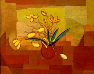 Amelia Peláez del Casal, Flores Amarilla, 1964