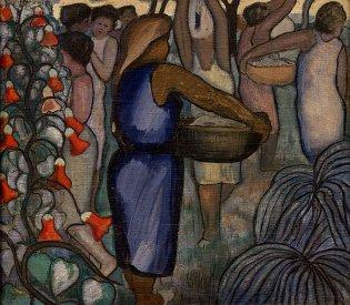 Arístides Fernández, Las lavanderas, -1