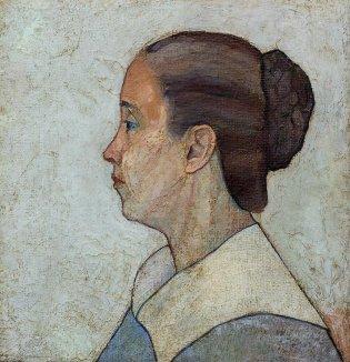 Arístides Fernández, Retrato de la madre del artista no. 3, -1