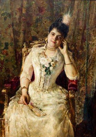 Armando García Menocal, Retrato de Rosario Armenteros de Herrera, 1889