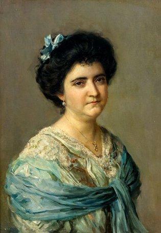 Armando García Menocal, Retrato de Sara de la Vega de Menocal