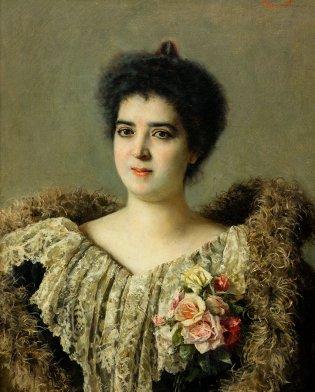 Armando García Menocal, Retrato de señora