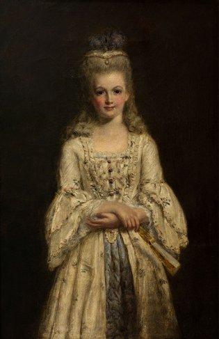 William Powell Frith (Studley 1819- Londres 1909), Su primer baile de traje de fantasía