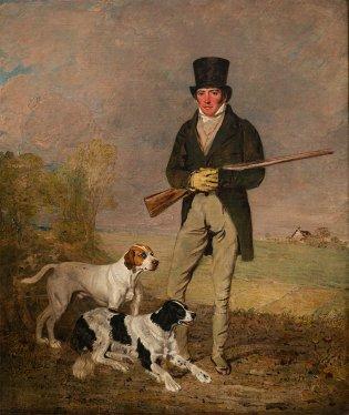 Benjamin Marshall (Leicester 1765-1824), Cazador, 1824