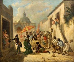 Víctor Patricio Landaluze, Día de Reyes en La Habana