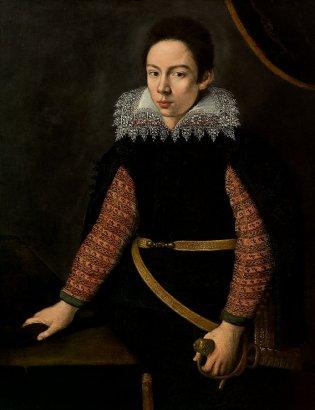 Cristofano Allori (Florencia, Retrato de Francisco de Médicis, hijo de Cosme de Médicis