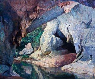 Domingo Ramos, Cueva de Los Portales