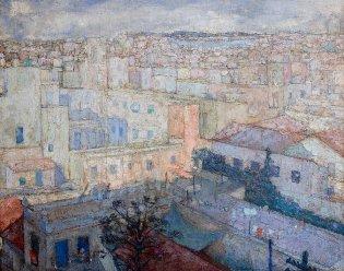 Eduardo Abela, Azoteas de La Habana, 1925
